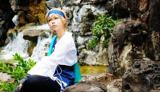 ハイガクラの藍采和の衣装:福州園でコスプレ