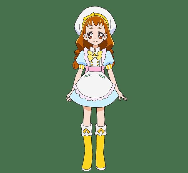 キラパティのパティシエ衣装のひまりちゃん