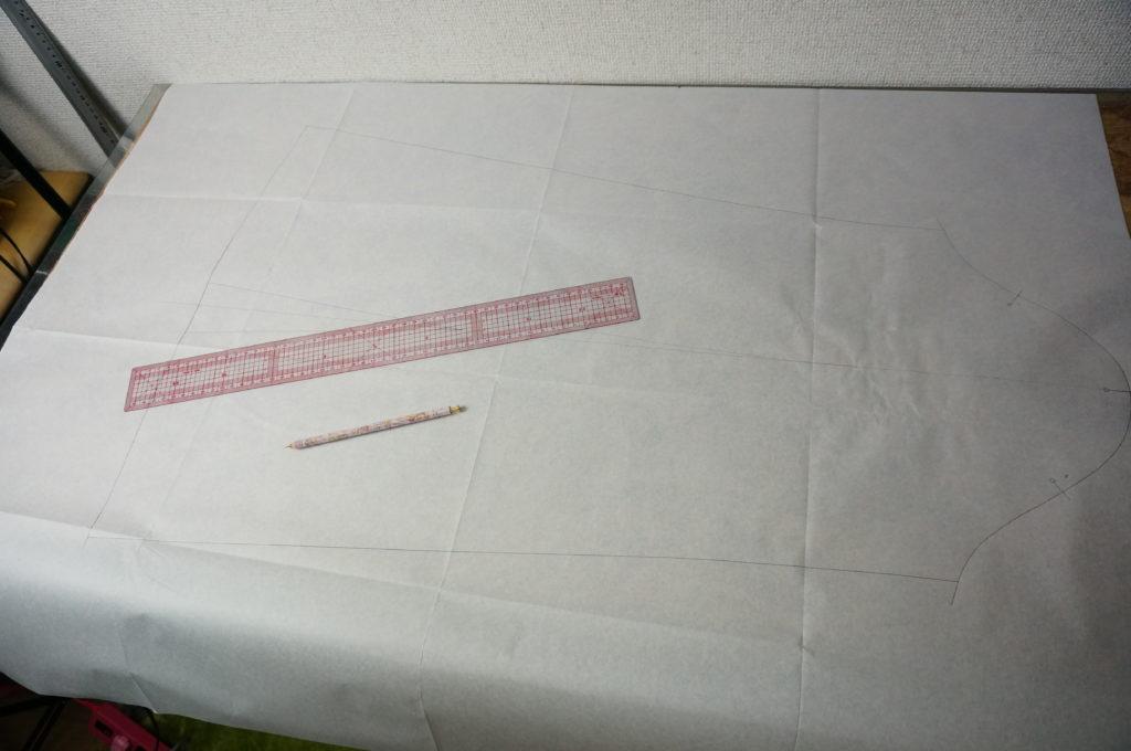 スンスンの型紙を1から引いて衣装製作