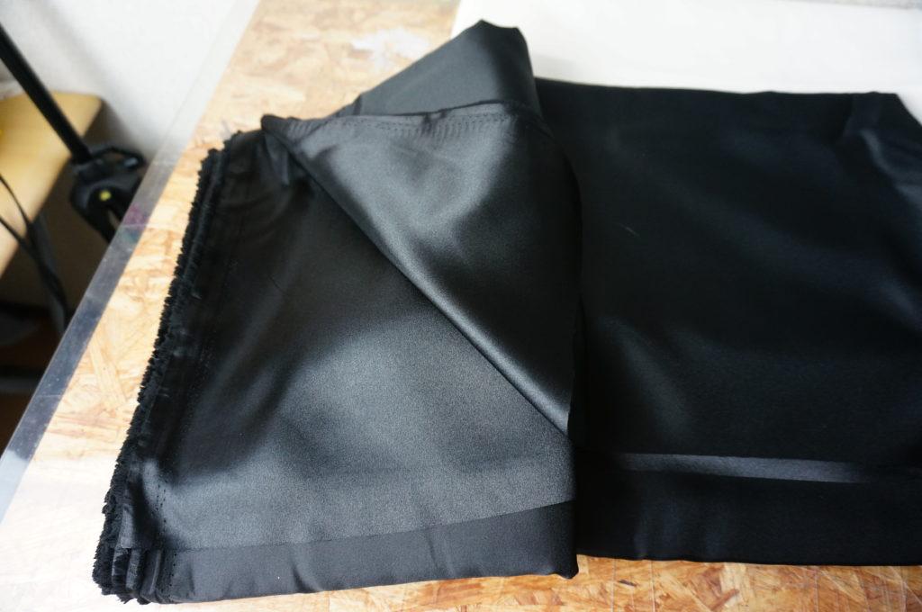 スンスンの衣装は総裏地付きなので型紙が2倍必要でした