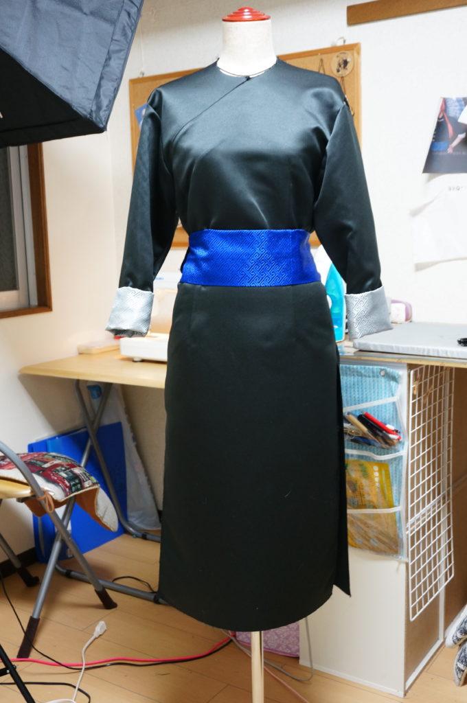 神威の衣装製作進んでくると型紙からのイメージ通りで完ぺき