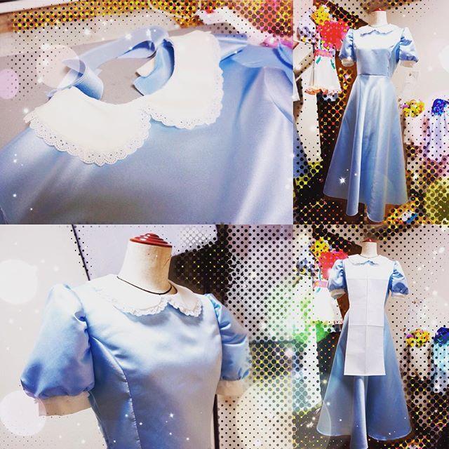 プリキュアアラモードのパティシエ衣装の型紙