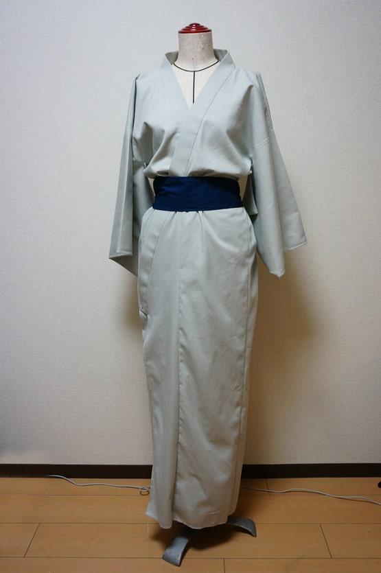 銀魂の次郎長の着物と帯の完成画像